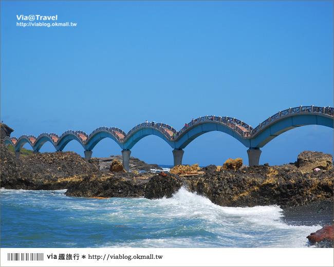 【台東必去景點】台東三仙台~我心目中台灣最美的一座橋啊!6