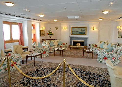 The Main Living Room on Britannia