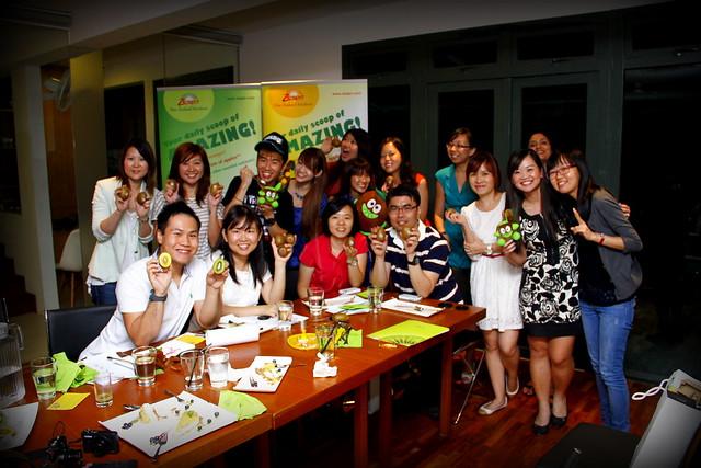 Zespri Kiwi Dinner @ The Living Cafe 051
