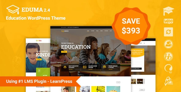 Education WordPress Theme v2.4.2 - Education WP