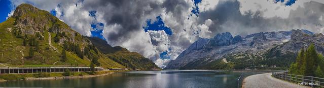 20160831 Lago fedai e Marmolada