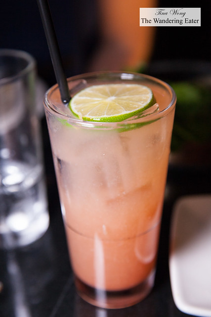 Watermelon mule - Bootlegger vodka, watermelon, ginger beer, lime