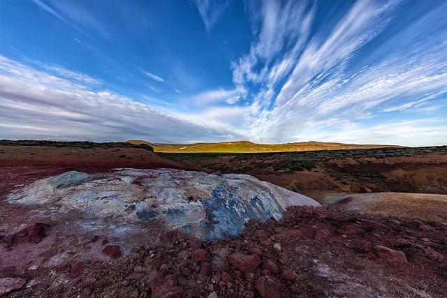 Iceland - Krýsuvík geothermal fields