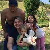 Familia que eu amo tanto e me põe de pé todo santo dia. Faltou o Victor (mas ele prometeu que vai no próximo fim de semana).
