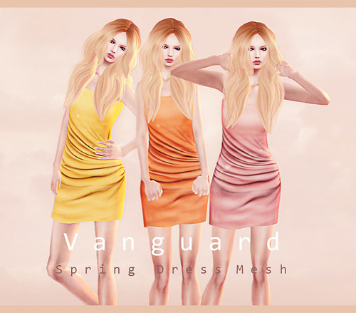 Vanguard Spring Dress Mesh Ad