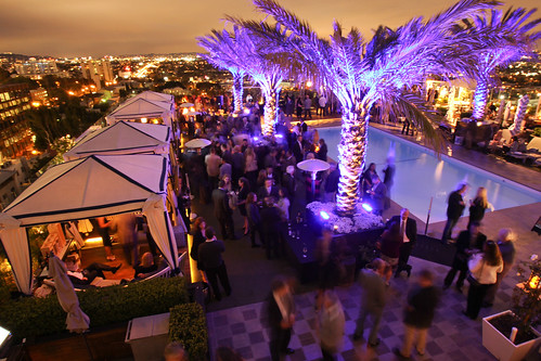 Jordan Vineyard & Winery 40th Anniversary Celebration, held on The London Hotel rooftop in West Hollywood, California, USA on Monday, April 23, 2012