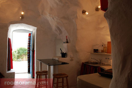 Caves with private terraces in Granada, Spain