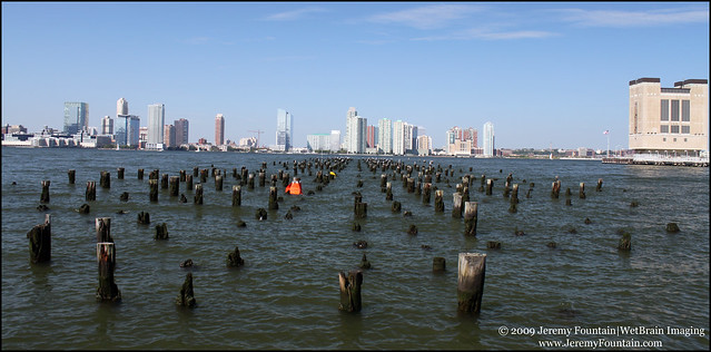 Jersey City from Manhattan