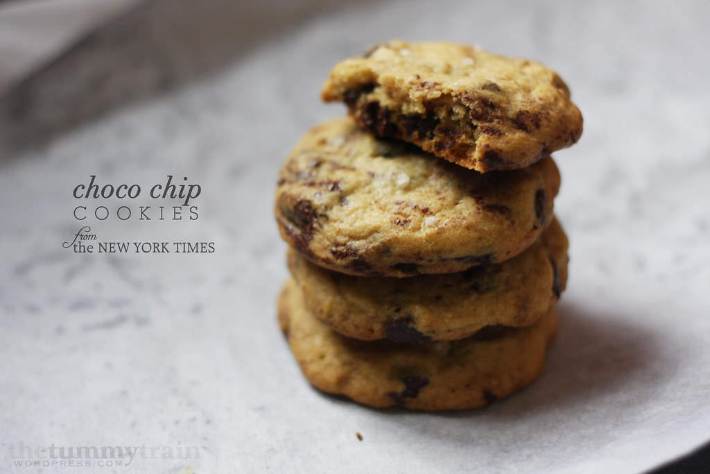 NY Times Choco Chip Cookies