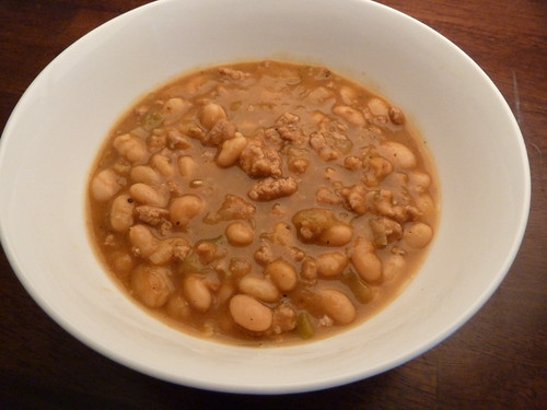 CrockPot Turkey White Bean Pumpkin Chili