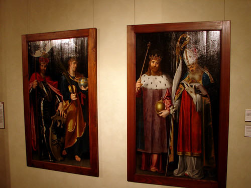 Saints, Wenceslas, Vitus, Sigismund and Adalbert (after 1585)