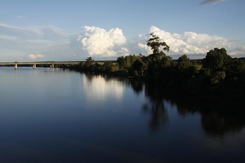 sunset clouds nsw taree manningriver cundletown