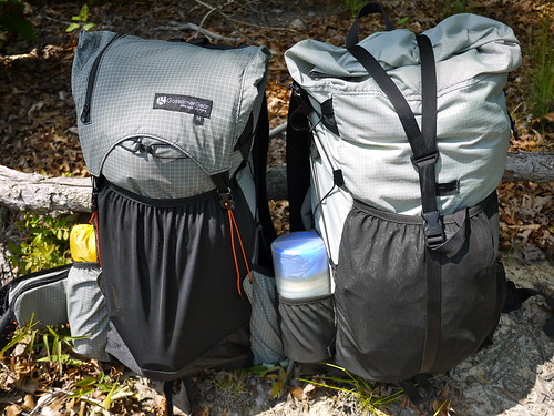 Gossamer Gear Gorillas Compared