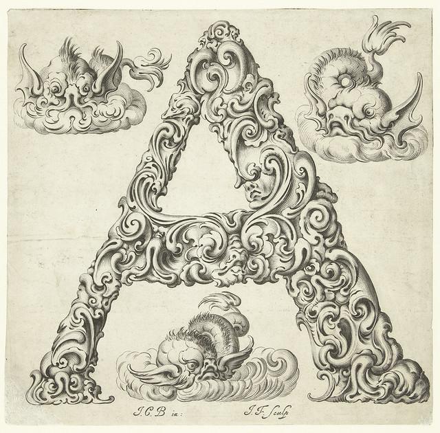 Letter 'A' (Jan Chrystian Bierpfaff + Jeremiasz Falck, 1656) - 'Libellus novus politicus emblematicus civitatum'