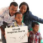 KLRU inspires me to ...