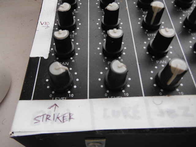 strike on the mic