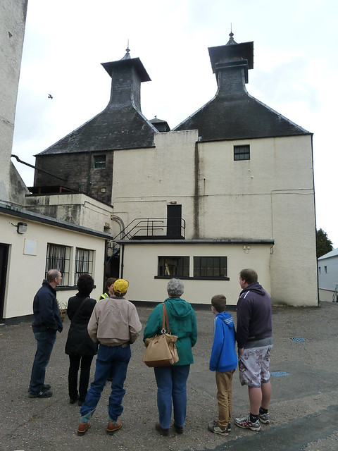 Tour Group at Glen Ord Distillery
