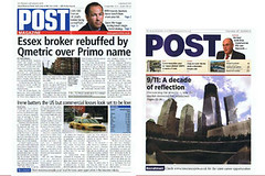Covers of Post Mga newspaper 1 September 2011 and magazine 8 September 2011