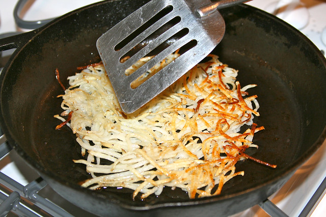 Hash Browns in Coconut Oil