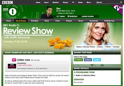 Radio 1 - ish