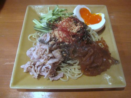 冷やし黒担々麺@ロンファン(桜台)