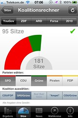 Wahl App NRW: Koalitionsrechner