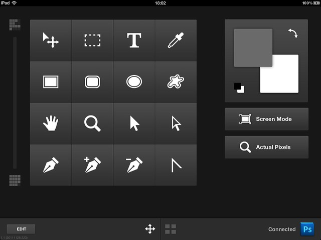 Adobe Nav Photoshop input setup