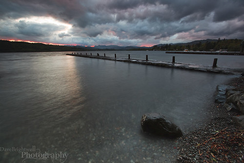 Approaching The Jetty by Dave Brightwell