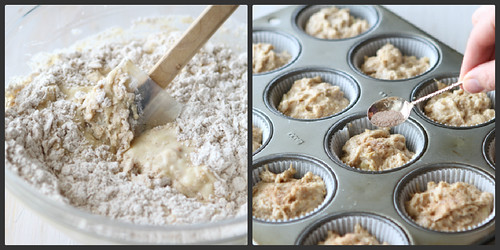 Peanut Butter, Banana & Honey Muffin Recipe