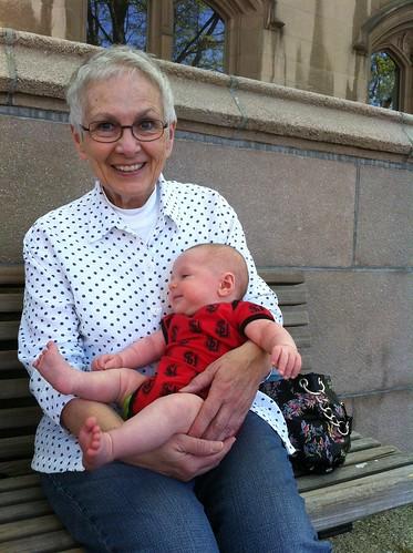 Grandma Christine and Franklin
