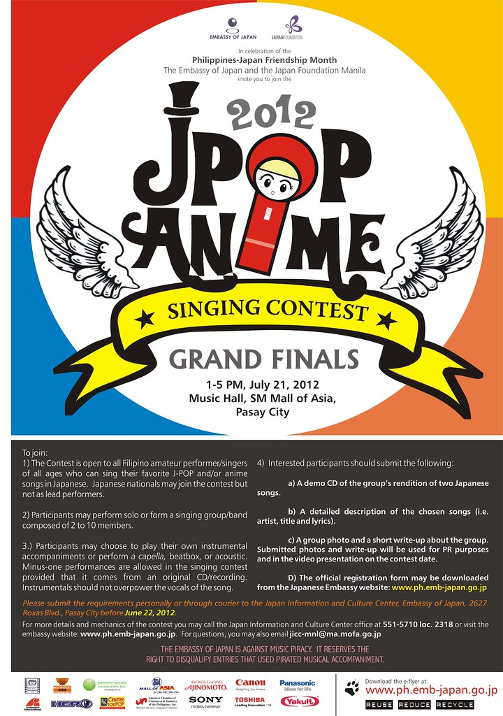 2012 J-Pop Anime Singing Contest