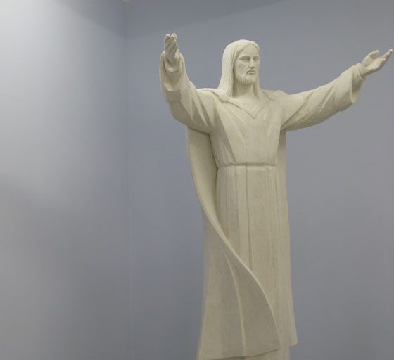 Christ the King by Miroslaw Parecki. Photo: Or Ernst