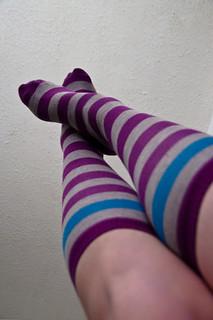 365: 2012/05/16 - sister socks