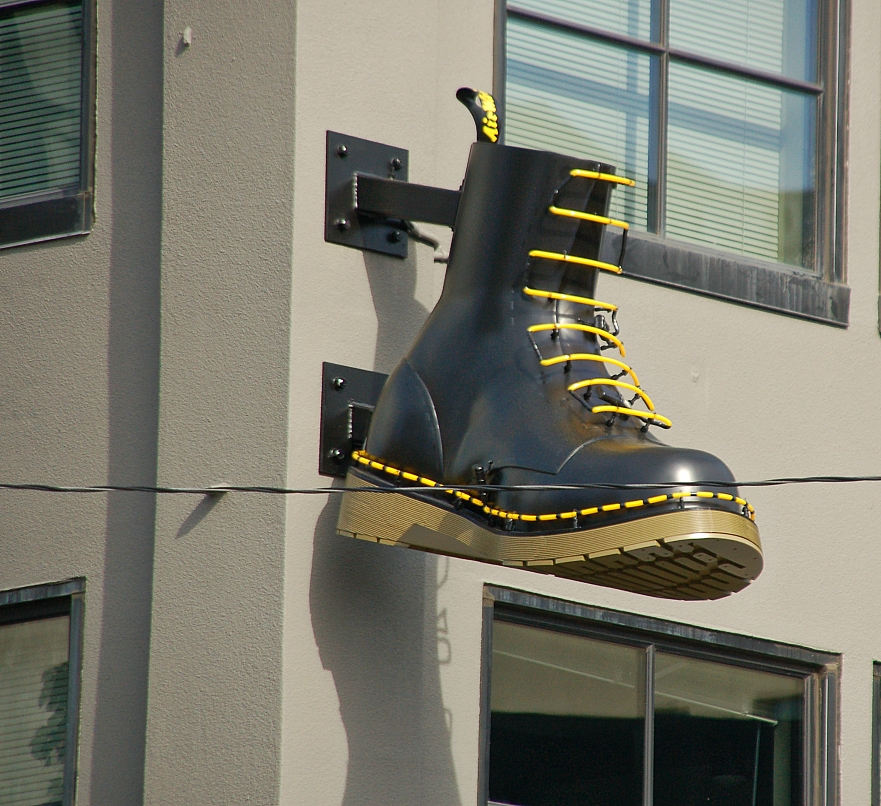 color_doc_martens_boot_bldg_West_Burnside_NW_10th_BeFunky