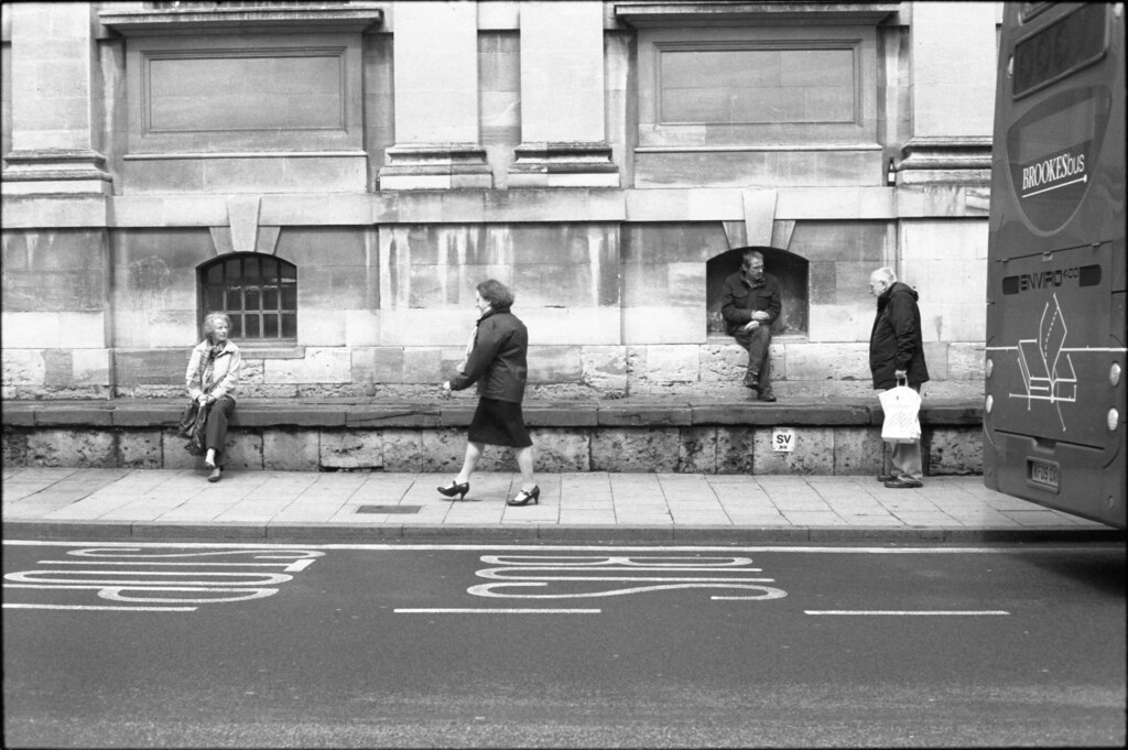 The High Street Bus Stops | The Lunchtime Portraits