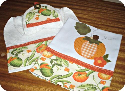 Pano de copa e toalha de mão by fatimalt