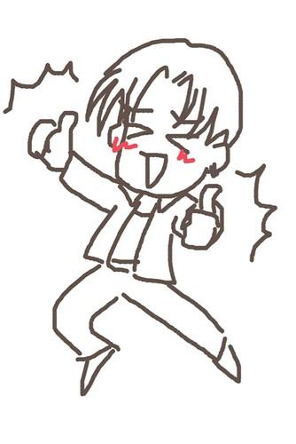 120526(2) - 聲優「恒松あゆみ」心血來潮畫出《Fate/Zero》所有角色的塗鴉、只有「久宇舞弥」發揮100%實力(笑) (16/18)