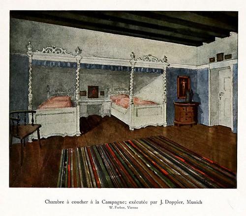 010-120 intérieurs en couleurs…-Principios siglo XX