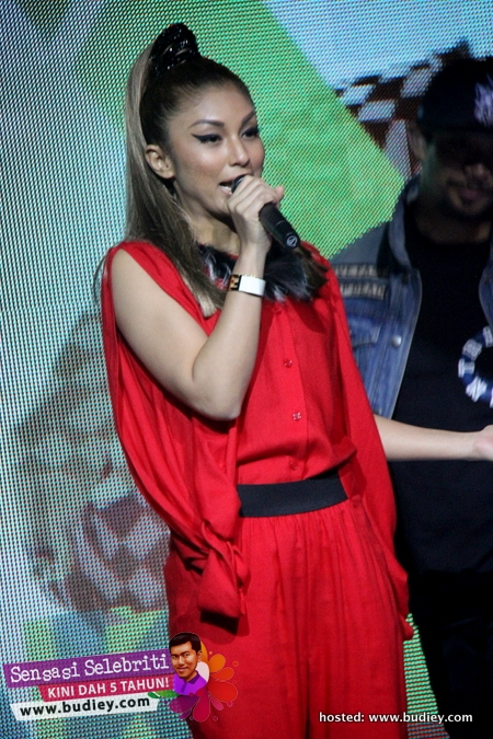 Mizz Nina Launching Album Take Over