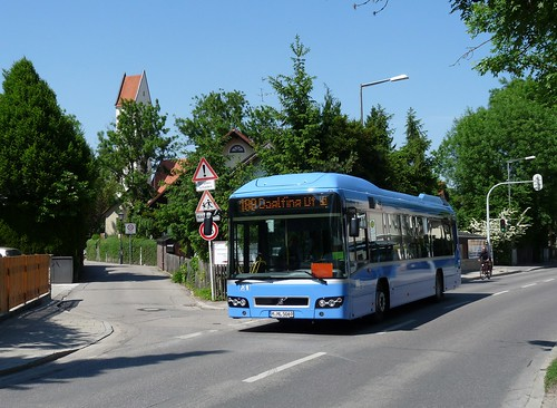 Bereits seit April 2012 fährt ein Volvo 7700 bei Münchner Linien für den Münchner Stadtverkehr.