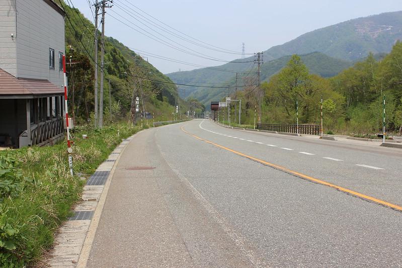 4日目 越後湯沢までの下り坂