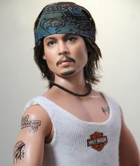Johnny Depp, Mattel Repaint