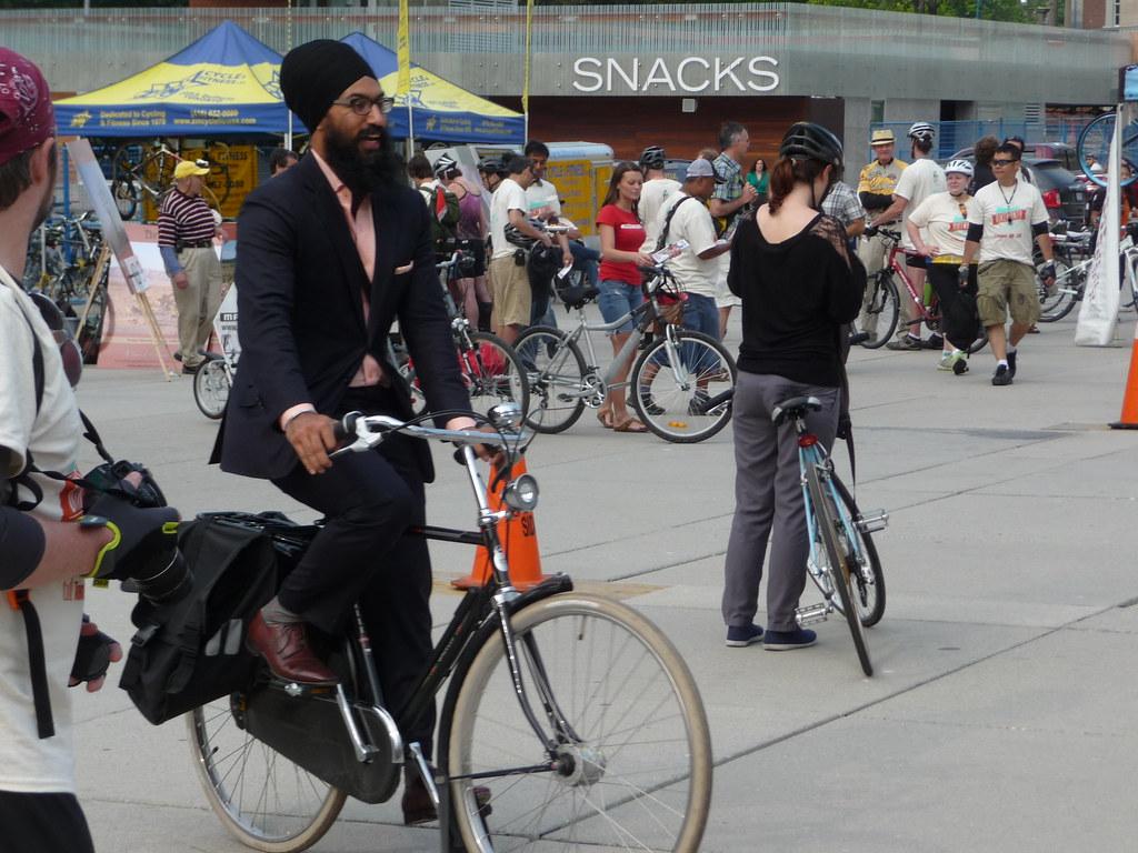 Jagmeet Singh's ballin' ride
