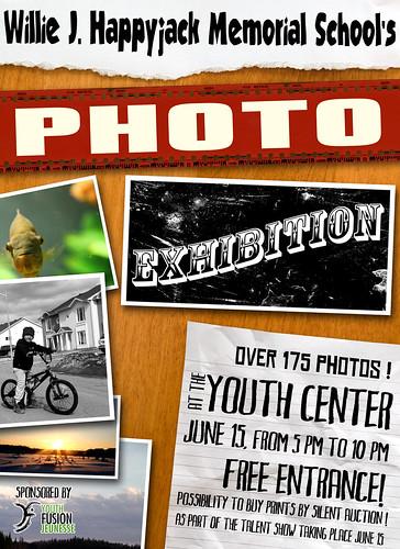Willie J. Happyjack Memorial School's Students Photo Exhibition