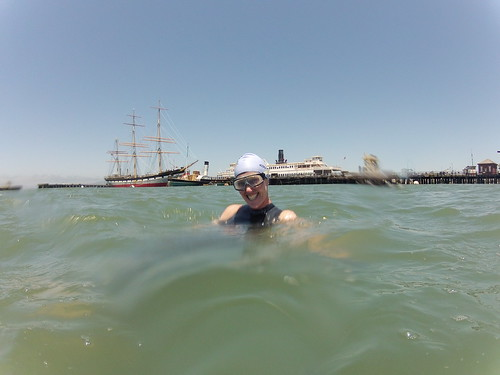 Swimming in Aquatic Park - May 30, 2012