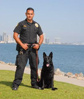 The Harbor Police K-9 Team