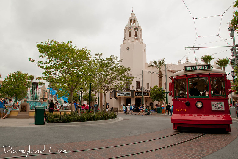 Buena Vista Street Opening Day - Carthay Circle