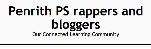 Penrth PS rappers and bloggers