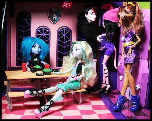 Hanging in the Lunchroom by DollsinDystopia