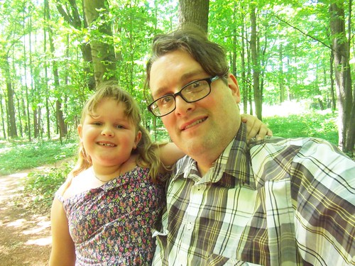 Gaia and I at Sheboygan Indian Mound Park